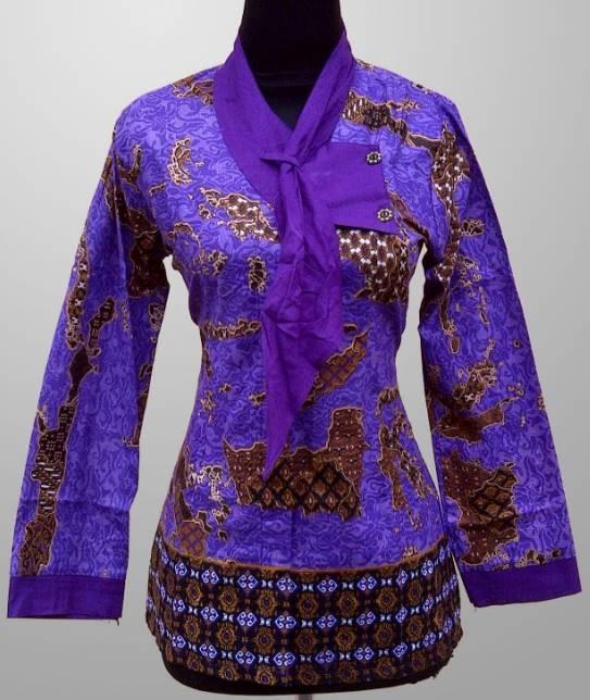 Pakaian Batik Untuk Interview Kerja: 10 Model Baju Batik Kerja Untuk Wanita Gemuk Terbaru 2020