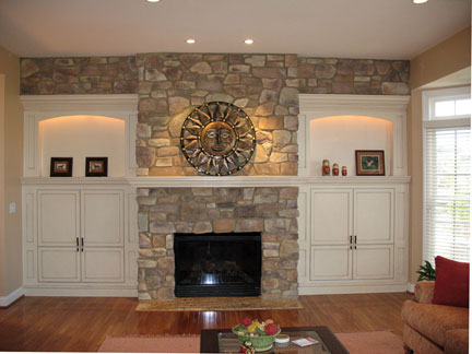 fireplace mantels as a center point in the interior design of a room house interior decoration. Black Bedroom Furniture Sets. Home Design Ideas