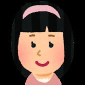 女の子の顔アイコン 6