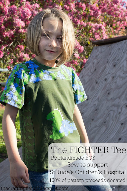The FIGHTER Tee! A St.Jude's Children's Hospital fundraiser