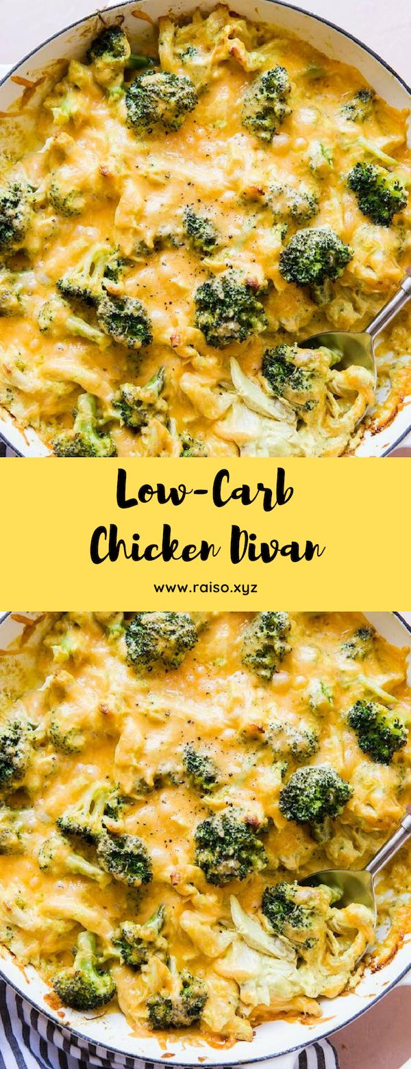 Low-Carb Chicken Divan #lowcarb #chicken