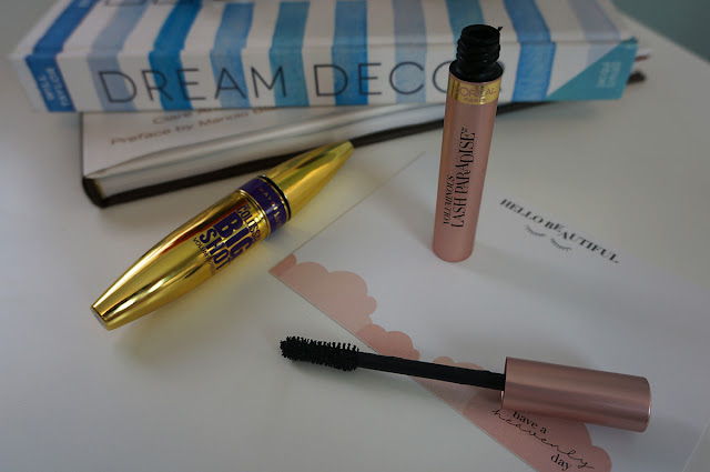 Maybelline Big Shot Mascara and L'Oreal Lash Paradise Mascara