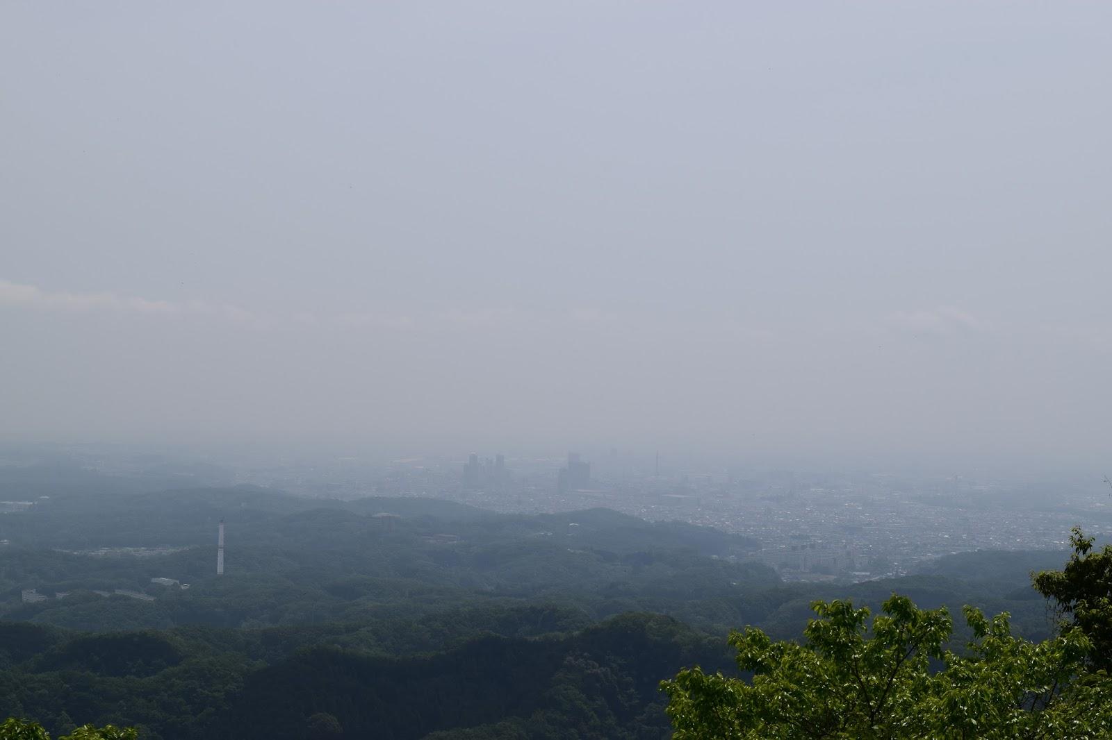 Mount Takao view Tokyo