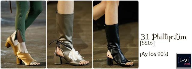 [SS16] 3.1 Phillip Lim: Stacked & squared heels  L-vi.com