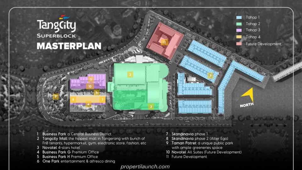 TangCity Superblock Master Plan