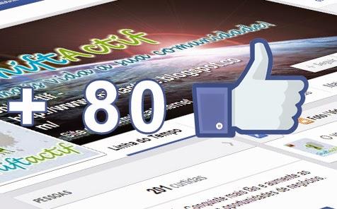 Como ganhar 80 curtidas diárias em sua página do Facebook?