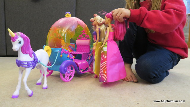 Barbie Dreamtopia Unicorn and Carriage
