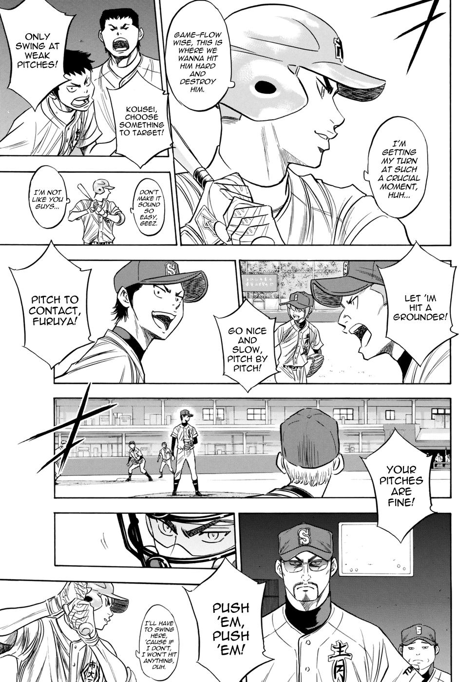 Daiya no A - Act II - Chapter 41