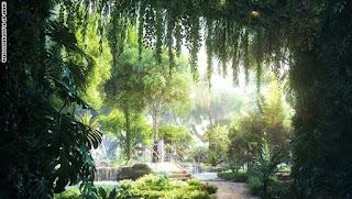 غابة استوائية في دبي