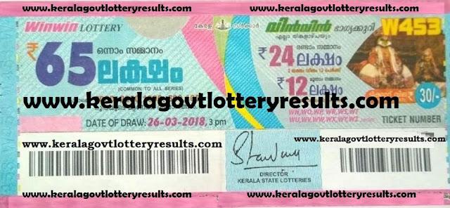 win win kerala lottery latest results