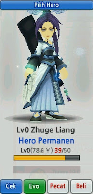 Zhuge Liang Evolution Lost Saga Indonesia