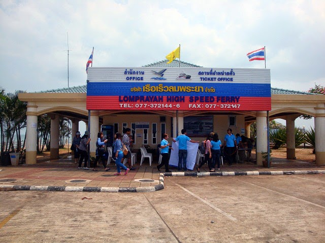 Lomprayah office at Surat Thani Pier
