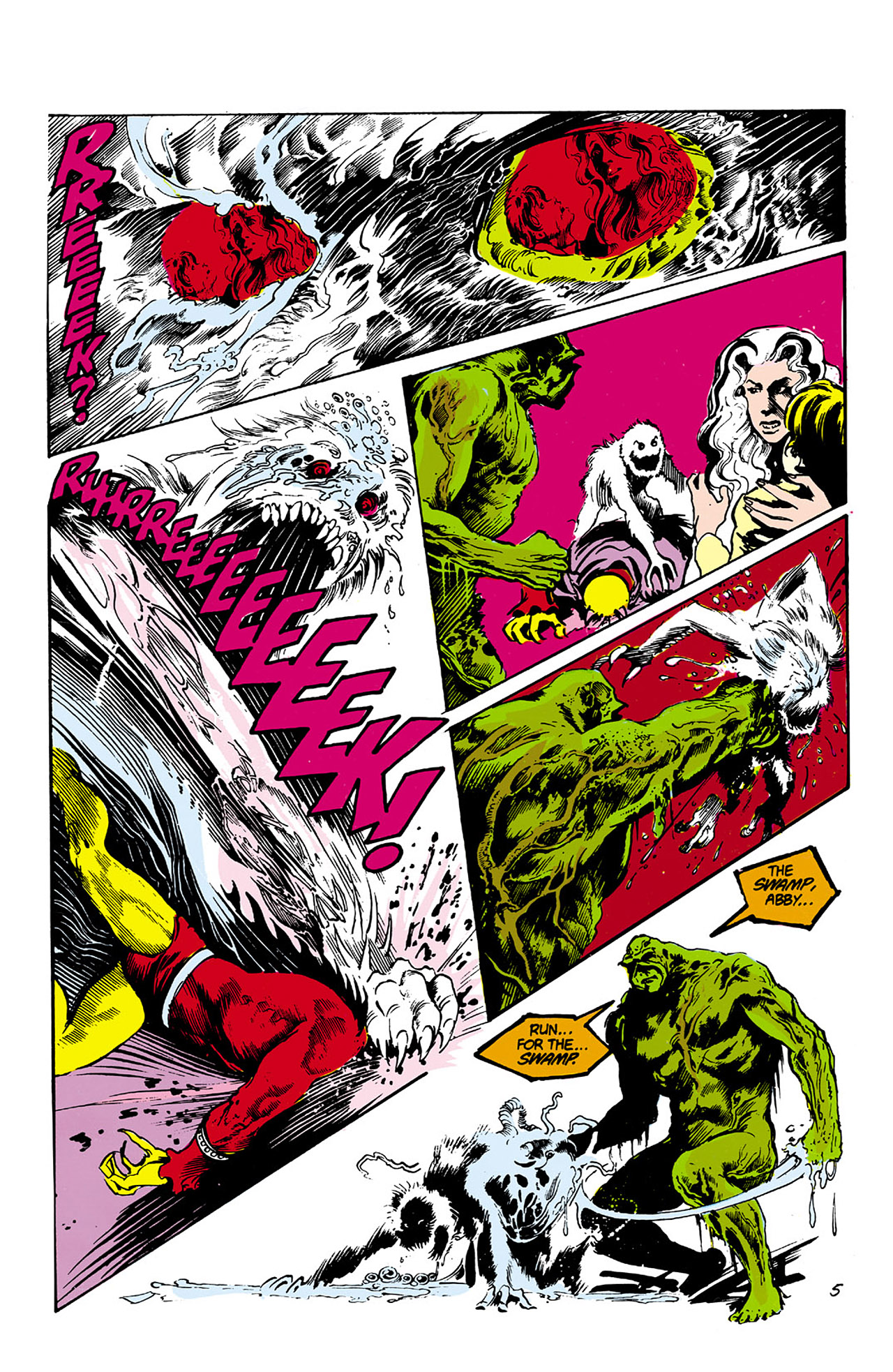 Swamp Thing (1982) Issue #27 #35 - English 5