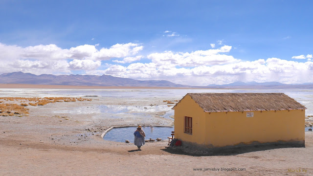 Hot Springs, Uyuni Salt Flats Tour, Bolivia