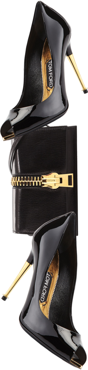 TOM FORD Sedgwick Zip Crossbody Bag, Black