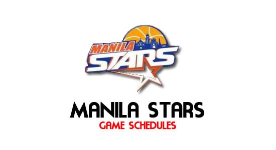 LIST: Game Schedule Manila Stars 2018 MPBL Anta Datu Cup