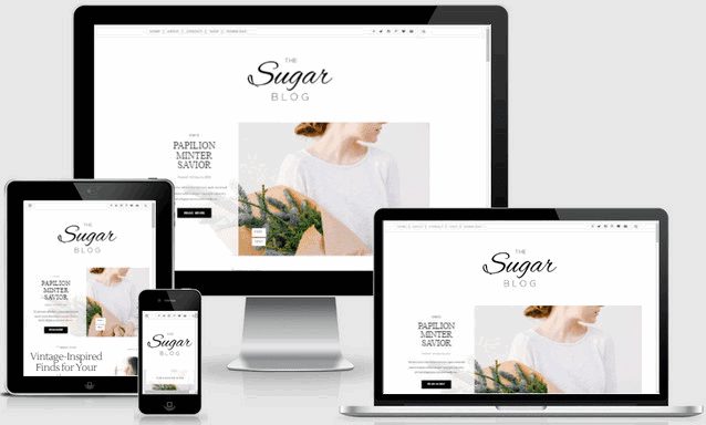 Sugar Blog Responsive Blogger Templates