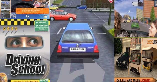 تحميل لعبة school driving 3d للكمبيوتر