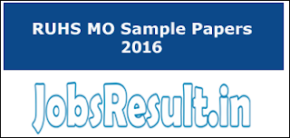 RUHS MO Sample Papers 2016