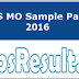 RUHS MO Sample Papers 2016 Medical Officer Previous Papers