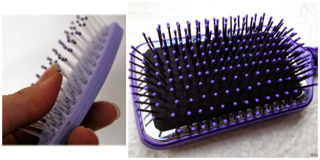 escova de cerdas de nylon com bolinhas nas pontas