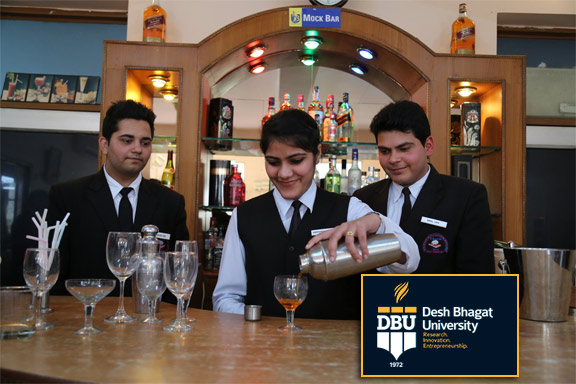 Best B.Sc. Hotel Management and Catering Technology institute in Punjab - Desh bhagat University