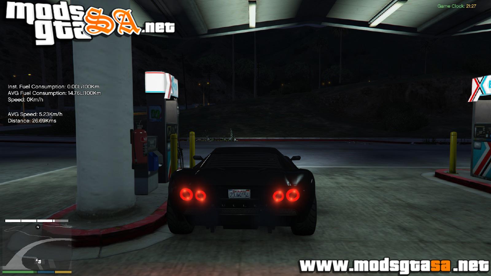 V - Mod Combustível Avançado para GTA V PC - Blog Mods GTA
