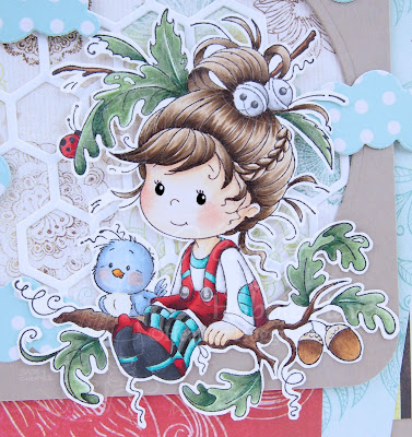 Heather's Hobbie Haven - Oak Tree Girl Card Kit