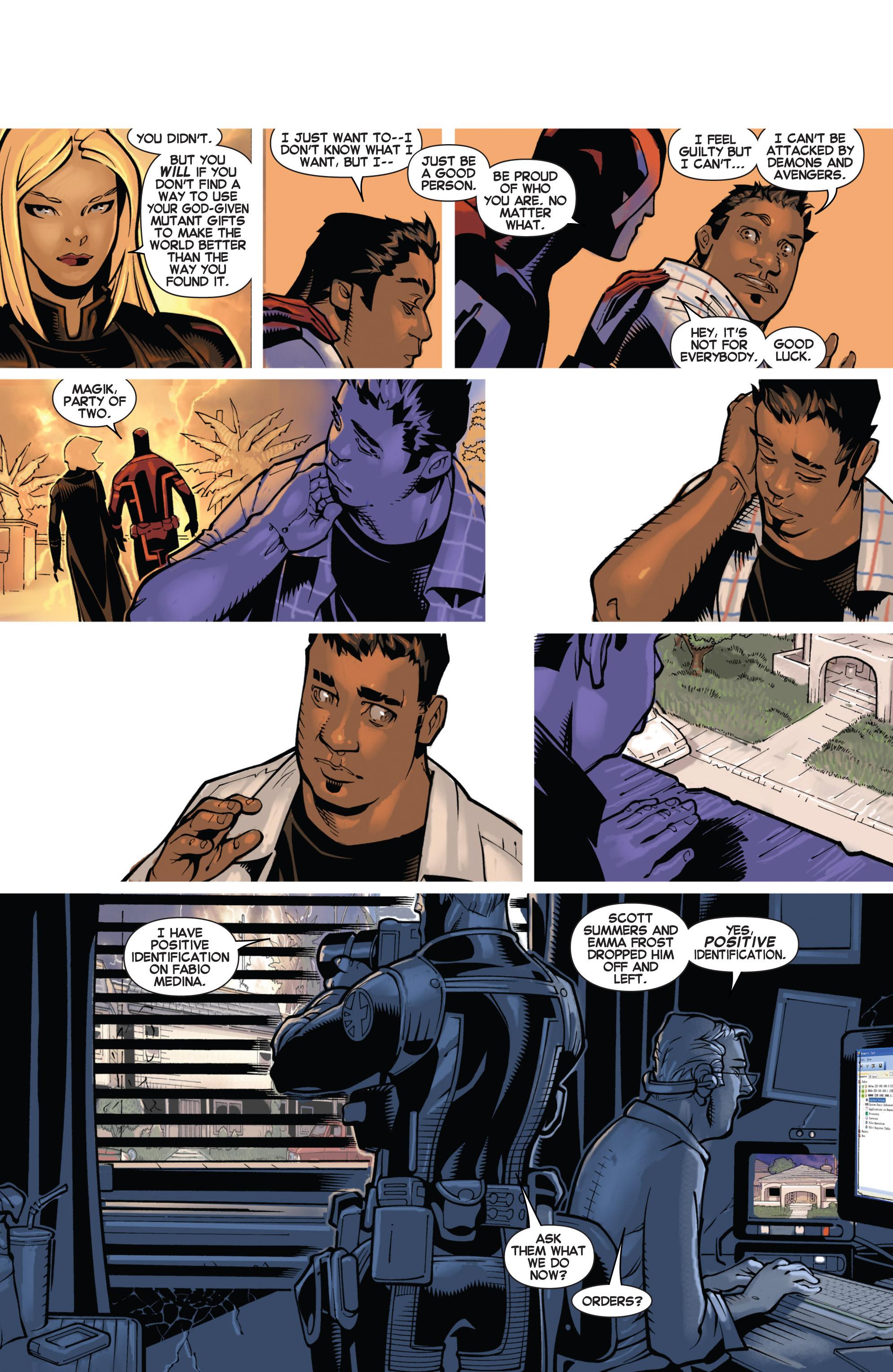 Read online Uncanny X-Men (2013) comic -  Issue # _TPB 2 - Broken - 43