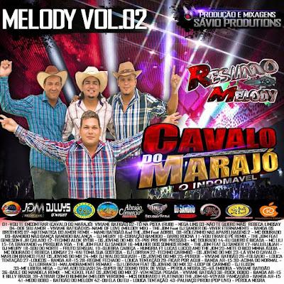 Cd Melody 2017 Cavalo Do Marajó Volume 2 - Sávio Productions