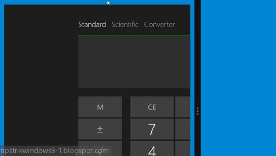cara membuka 2 aplikasi secara bersamaan dalam 1 layar di windows 8.1