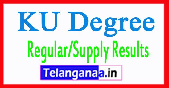 KU Degree Regular/Supply Results 2018