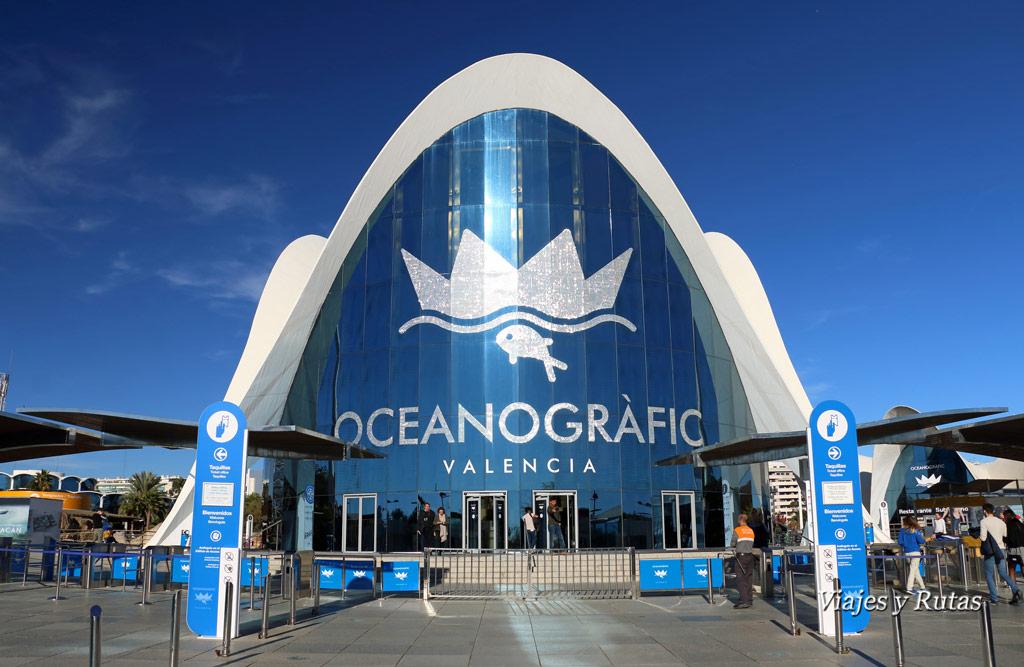 Oceanografic de la Ciudad de las Artes y las Ciencias de Valencia