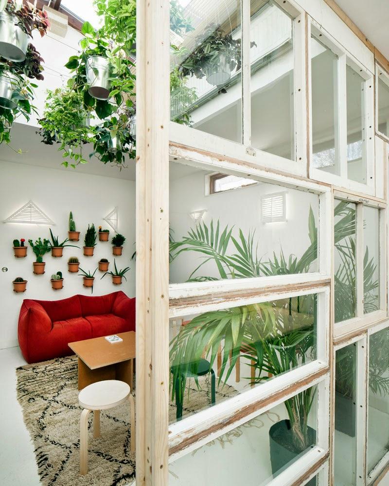 Cinco ideas de c mo hacer tus paredes con muebles - Ideas para decorar un loft ...