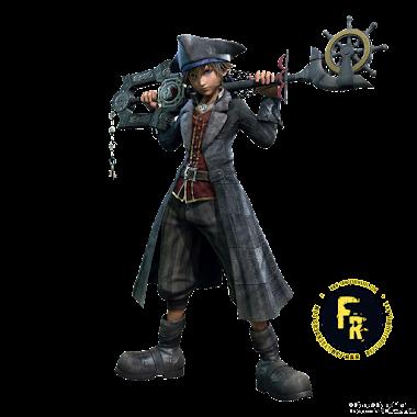 render sora, KH3, piratas del caribe MODE