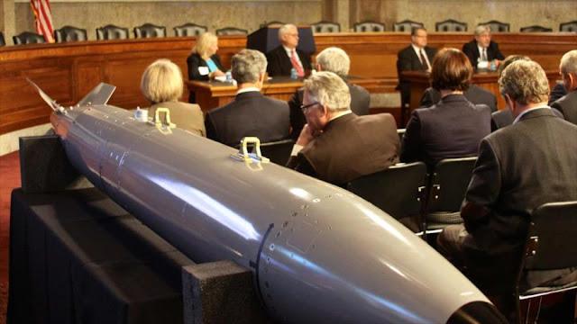 EEUU avanza desarrollo de bomba atómica de nueva generación B61-12