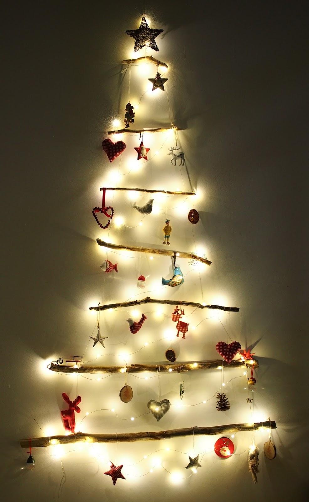 Vianočný stromček na stene / A wall Xmas tree | letvor