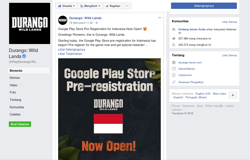 Gak Sabar! Game Android Durango : Wild Lands Bakal Rilis Bulan Mei 2018