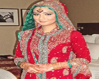aneka model baju sari india