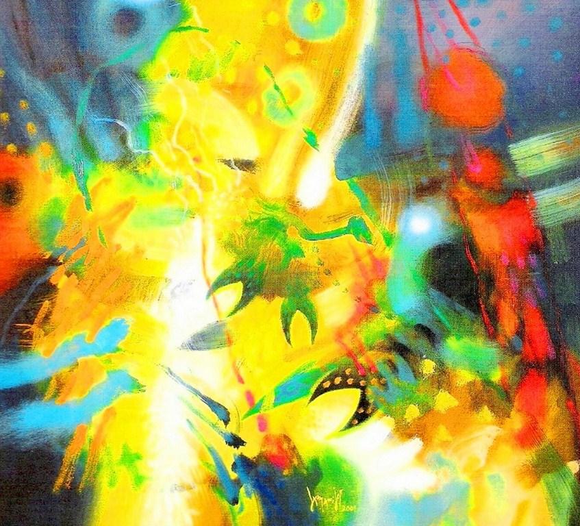 Cuadros pinturas oleos cuadros abstractos modernos para sala - Pinturas para comedores modernos ...