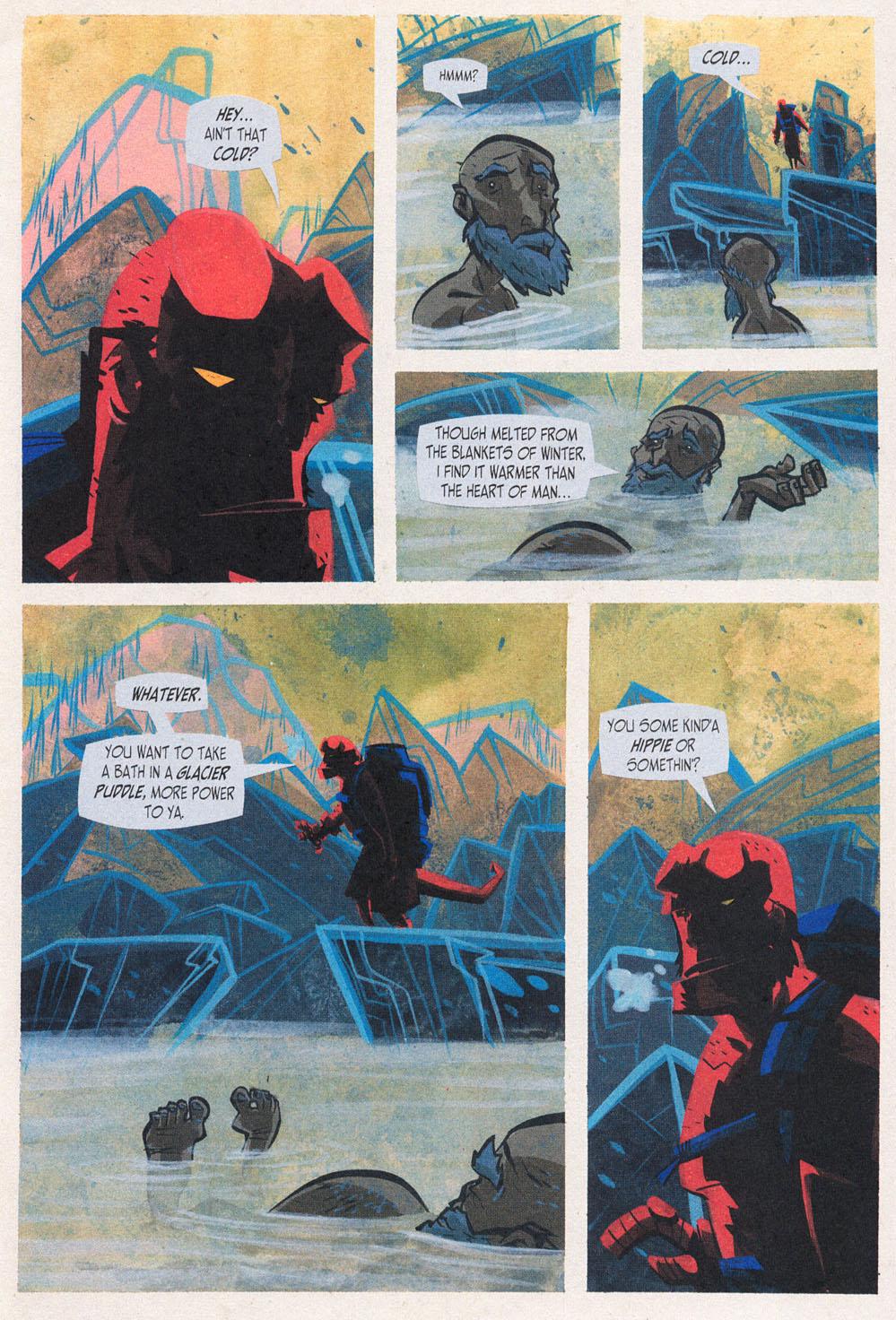 Read online Hellboy: Weird Tales comic -  Issue #5 - 13
