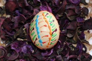 Veľkonočné vajíčka - maľovanie voskom časť 5)