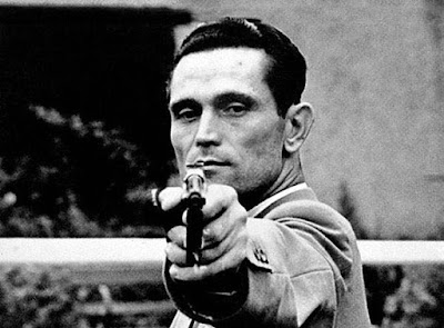 olympic shooting champion with one arm (or) Karoly takcs