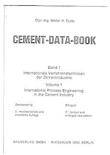 Cement Data Book