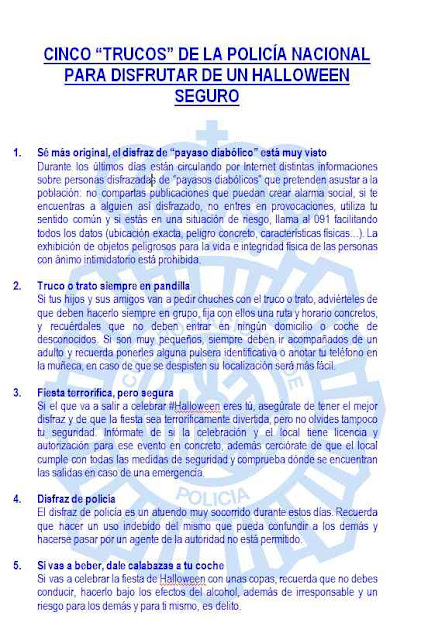 Agresión payaso diabólico La Paterna, bulo, Las Palmas