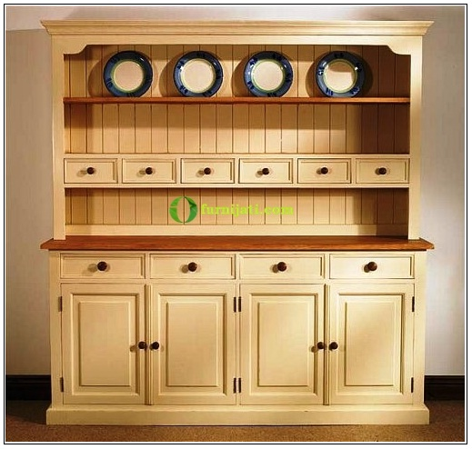 Model lemari dapur kayu jati