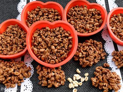 Szyszki z orkiszu ekspandowanego (ciastka)