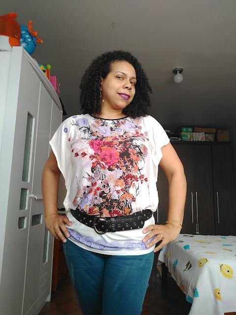 Look do Dia, Moda, Dicas de moda, gamiss, blusa branca floral, calça jeans, loja internacional, loja online, lookbook, look, loja repris