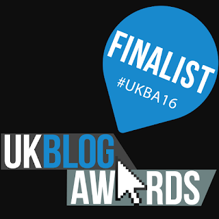 We are Finalists at the UK Blog Awards #UKBA16