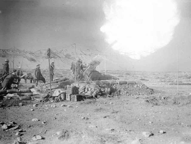 1 February 1941 worldwartwo.filminspector.com Derna British artillery